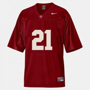 #21 Dre Kirkpatrick Alabama Crimson Tide Men's College Football Jersey - Red