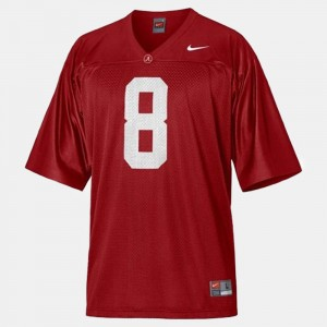 #8 Julio Jones Alabama Crimson Tide College Football For Men's Jersey - Red