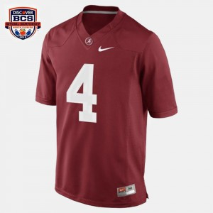 #4 T.J. Yeldon Alabama Crimson Tide College Football For Kids Jersey - Red