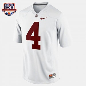 #4 T.J. Yeldon Alabama Crimson Tide Youth College Football Jersey - White
