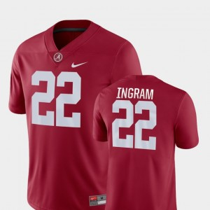 #22 Mark Ingram Alabama Crimson Tide Mens College Football Game Jersey - Crimson